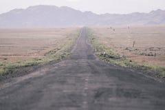 Die Straße zu den Schluchten schlucht stockfotografie