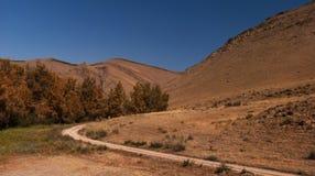 Die Straße zu Kyzyl Stockbild
