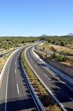 Die Straße zu Majorca Stockbild
