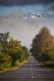 Die Straße zu Svaneti in Georgia Stockbild