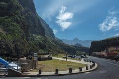 Die Straße zum Heiligen Vincent Lizenzfreies Stockfoto
