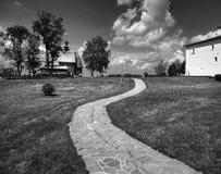 Die Straße zum kleinen Tempel Rebecca 6 lizenzfreie stockfotografie