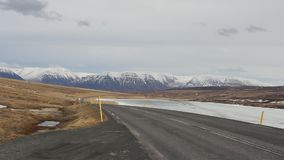 Die Straße zum Nirgendwo in der Insel Stockfoto