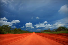 Die Straße zum Wiley-Nebenfluss Lizenzfreie Stockfotografie