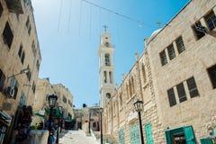 Die Straßen der alten Stadt von Bethlehem Lizenzfreie Stockbilder