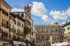 Die Straßen und die Architektur von Verona, Italien Touristisch, Reise lizenzfreies stockfoto