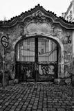 Die Straßen von altem Prag Stockfotos