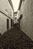 Die Straßen von altem Prag Lizenzfreies Stockfoto