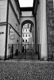 Die Straßen von altem Prag Stockfoto