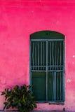 Die Straßen von Antigua stockfotos