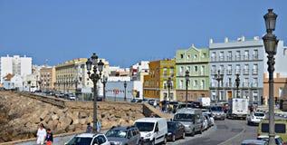 Die Straßen von Cadiz, Spanien Lizenzfreie Stockfotos