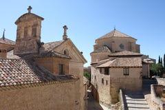 Die Straßen von Cuenca in Spanien Lizenzfreies Stockfoto
