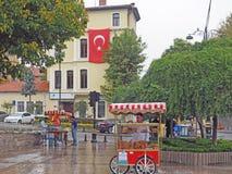 Die Straßen von Istanbul Stockfotografie
