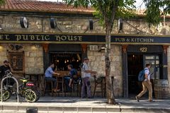Die Straßen von Jerusalem Stockfotos