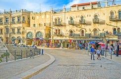 Die Straßen von Jerusalem Stockbilder