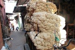 Die Straßen von Marrakesch lizenzfreie stockbilder