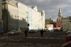 Die Straßen von Moskau Lizenzfreies Stockfoto