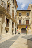 Die Straßen von Murcia, Spanien stockfotografie