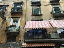 Die Straßen von Neapel Lizenzfreie Stockfotos