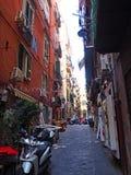 Die Straßen von Neapel Lizenzfreies Stockfoto