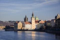 Die Straßen von Prag Lizenzfreies Stockbild