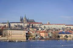 Die Straßen von Prag Lizenzfreies Stockfoto