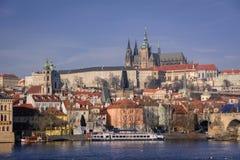 Die Straßen von Prag Lizenzfreie Stockbilder
