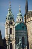 Die Straßen von Prag Lizenzfreie Stockfotografie