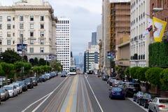 die Straßen von San Francisco Stockbilder