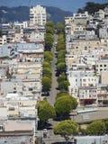 die Straßen von San Francisco Stockfoto