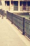 Die Straßen von Venedig stockbild