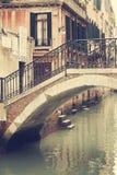 Die Straßen von Venedig stockfotografie