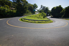 Die Straßenkurven Stockfotos