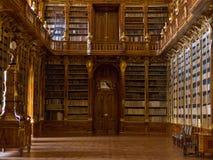 Die Strahov Bibliothek in Prag. Lizenzfreies Stockbild