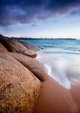 Die Strand-Felsen Stockfotos