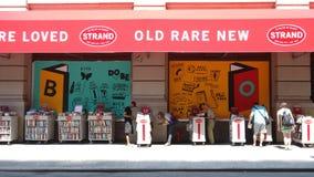 Die Strang-Buchhandlung Lizenzfreie Stockfotos