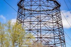 Die Struktur des industriellen Zweckes Stockbilder