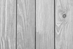 Die strukturierte Holzoberfläche der grauen Farbe Stockbilder