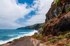 Die subtropische Brandung der La Palma-Osten-Küste Lizenzfreies Stockfoto