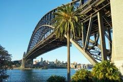 Die Sydney-Hafen-Brücke Lizenzfreie Stockbilder