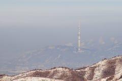 Die Szene von Almaty Lizenzfreies Stockfoto
