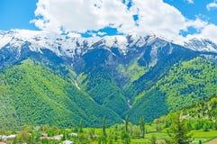 Die Täler von Svaneti Stockfoto