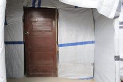 Die Tür. Stockfotos