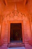 Die Tür der Kirche Stockfotografie