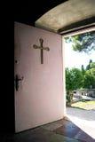 Die Tür des Tempels Lizenzfreies Stockbild