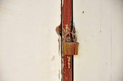 Die Tür ist verschlossen Stockbild