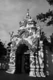 Die Tür an Jedeeluang-Tempel in Chiang Mai, Thailand Lizenzfreie Stockfotografie