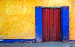 Die Tür vom alten Stockfotografie