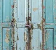 Die Tür war verschlossen stockfotografie