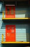 Die Türen Stockbild